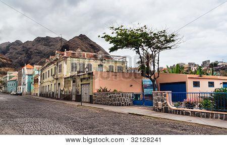 Ribeira Grande, A Small Village In Cape Verde
