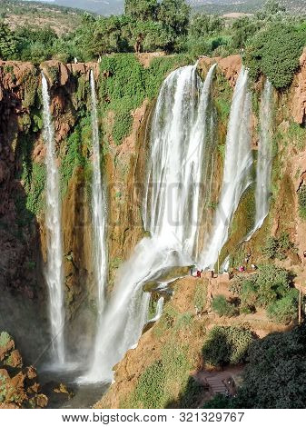 Morocco's Largest And Highest Waterfall - Uzoud