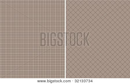 Brown Houndstooth Paper Set