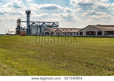 Agro-processing Plant For Processing And Silos For Drying Cleaning And Storage Of Agricultural Produ