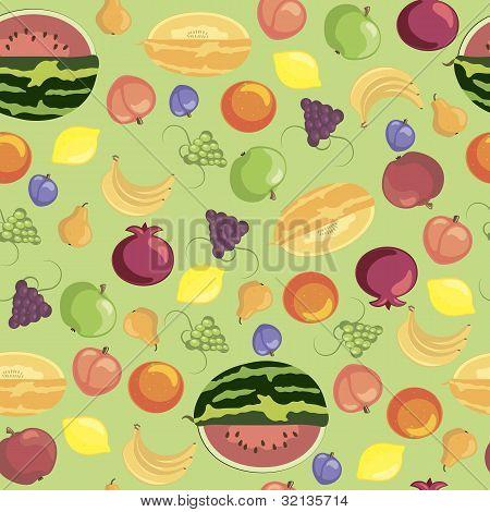 Fruits Seamless Pattern.eps
