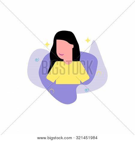Default Avatar Profile Icon. Colorful Illustration Eps10