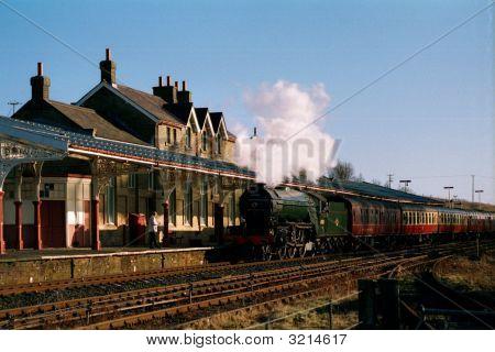 Steam At Hellifield