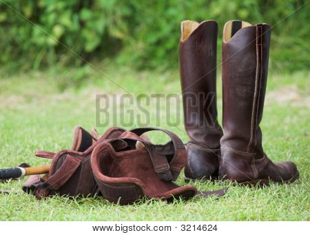 Riding Boots And Equipment