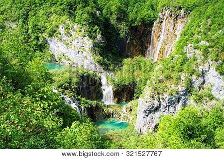 Plitvice Lakes National Park (plitvicka Jezera), Lika-senj, Croatia - Unesco World Heritage Site