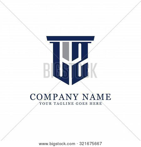 L Z Initial Logo Designs Inspiration, L Z Logo Vector, Can Used Firm, Finance, Sport Logo Template