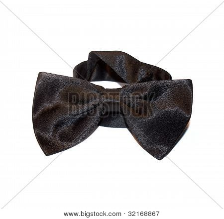 The black bow-tie