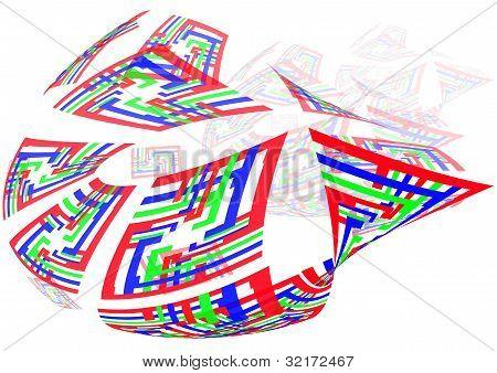 colourful ship