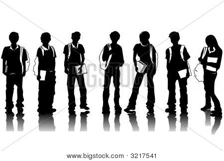 Student Silhouettes