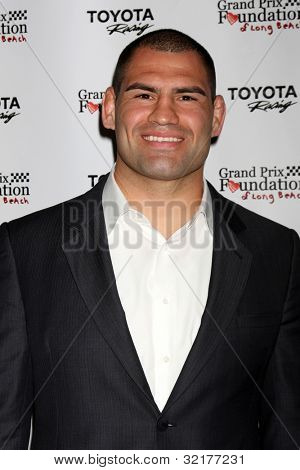 LOS ANGELES - APR 13:  Cain Velasquez at the Long Beach Grand Prix Foundation Gala at Westin on April 13, 2012 in Long Beach, CA