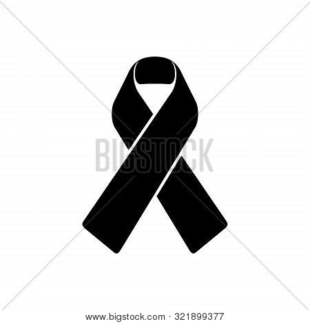 Awareness Ribbon Icon Isolated On White Background. Awareness Ribbon Icon In Trendy Design Style. Aw