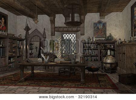 The Alchemist's Study