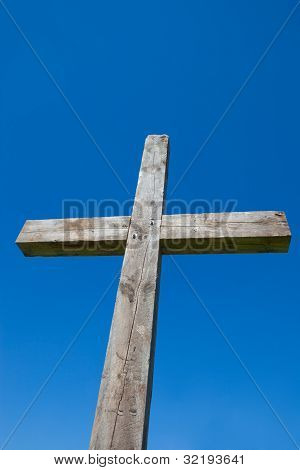 Cross With Blue Sky