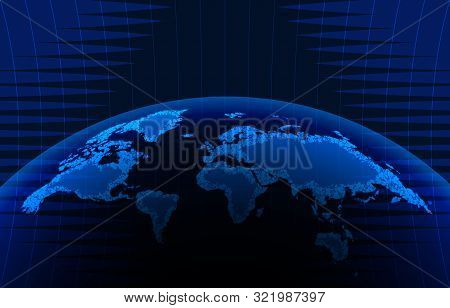 News Vector Background, Breaking News. Can Be Used For Blog Background Or Technological Or Business