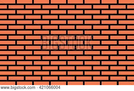 Brick Wall Blocks Masonry Architectural Background Texture.