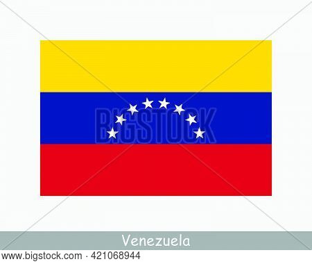 National Flag Of Venezuela. Venezuelan Country Flag. Bolivarian Republic Of Venezuela Detailed Banne