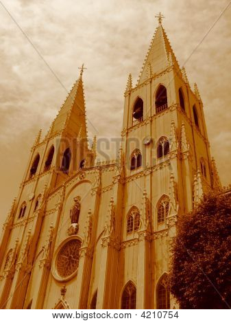 Gothic Church Of San Sebastian