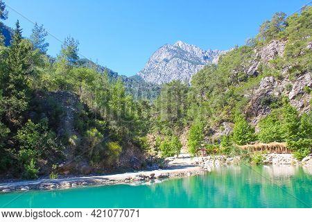 Beautiful Canyon Of Harmony, Near The Town Of Goynuk