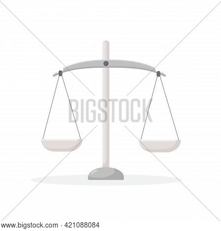 Scales Of Justice Is An Illustration Of The Scales Of Justice Symbolizing The Measure Of A Cases Sup