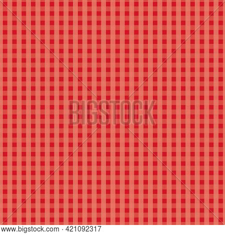Little Red Squares Vector Seamless Repeat Pattern