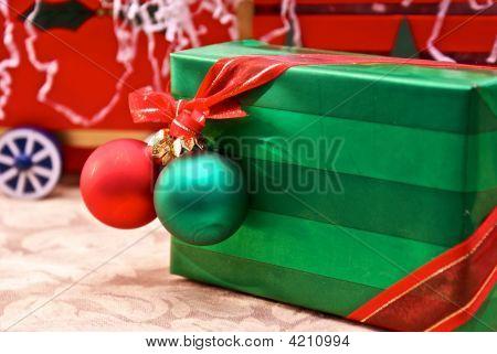 Angled Christmas Gift