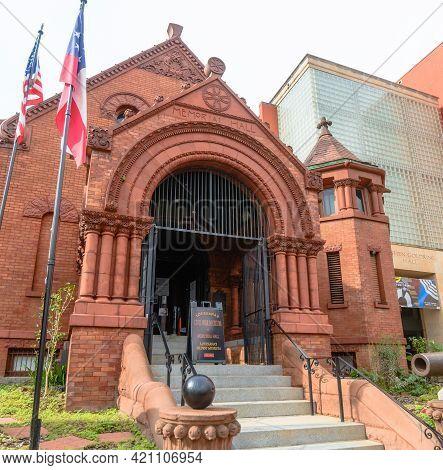 New Orleans, La - November 27: Entrance To Civil War Museum On Camp Street On November 27, 2020 In N