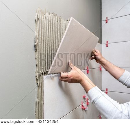 Ceramic Tiles -Reconstruction of bathroom or toilet with ceramic tiles