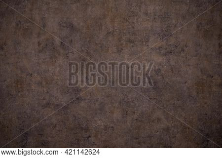 Old Rusty Metal Surface Texture Background. Horizontal Image .