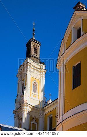Ancient Saint Ignatius Of Loyola And Stanislaus Kostka Church (former Jesuit Collegium). Jesuit Roma