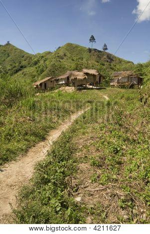 Hilltop Village, Mindanao, Philippines