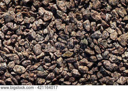 Gravel Small Stones Rubble Of Different Sizes