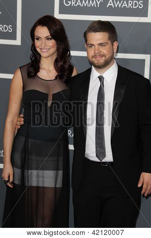 LOS ANGELES - FEB 10:  Jack Osbourne arrives at the 55th Annual Grammy Awards at the Staples Center on February 10, 2013 in Los Angeles, CA