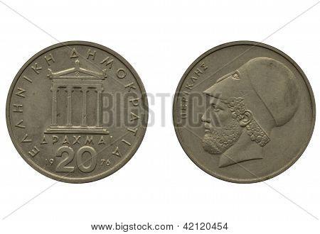 20 greek drachma