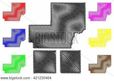 Meade, Moody And Miner County, State Of South Dakota (u.s. County, United States Of America, Usa, U.