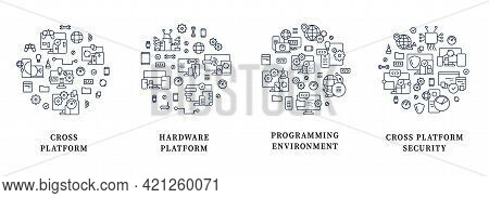 Cross Platform Circle Posters. Hardware Platform, Programming Environment. Security. Digitalization