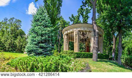 Alcove In The Mezhyhirya Residence, Kyiv, Ukraine