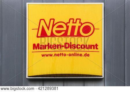 Berlin, Germany - July 12, 2020: Netto Marken-discount Is A German Discount Supermarket Chain. It Is