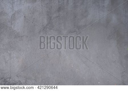 Old Wall Texture Cement Dark Grey Background. Stone Wall. Vintage Or Grungy Of Concrete Texture Back