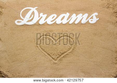 Dreams On The Sandy Beach.