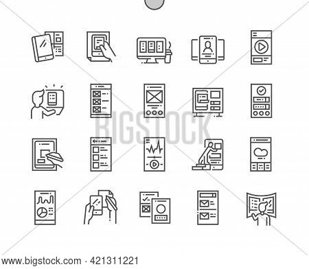 Mobile Ux. Social Media App. Mobile Application. Gui, Development, Creative, Network, Prototype, Wid