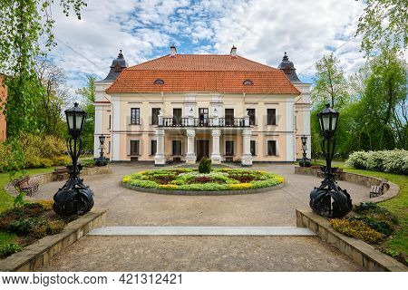 Nemtsevich Manor House, Skoki, Brest Region, Belarus. This Is A Public Place, Not Private Property.