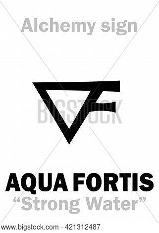Alchemy Alphabet: Aqua Fortis (