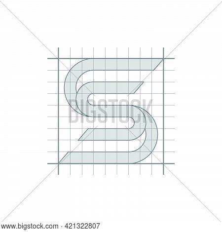 S Letter Logo Lettermark S Monogram - Typeface Type Emblem Character Trademark