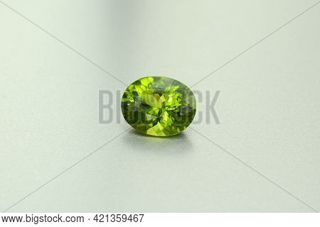 Natural Unheated Bright Neon Green Color Oval Faceted Clean Loose Tanzanian Tourmaline Gemstone Sett