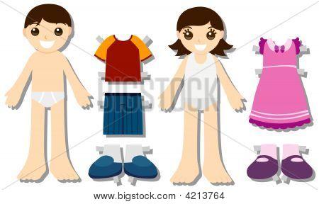 Paper Doll Kids