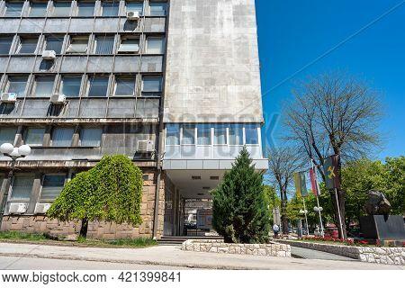 Headquarters Of Zijin Bor Copper Mine And Smelting Complex In Bor, Serbia