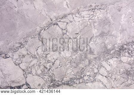 Natural Fantasy Grey - Calcite Background, Modern Texture In Beautiful Light Color As Part Of Your I