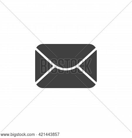 Email Message Vector Icon. Filled Flat Sign For Mobile Concept And Web Design. Envelope Mail Glyph I