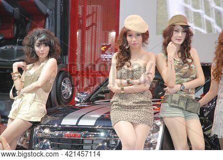 Bangkok-mar 26 Pretty At The31th Bangkok International Motor Show 2010 On Mar 26 , 2010 At  Bangkok