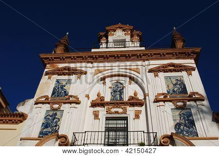 Charity hospital, Seville, Spain.